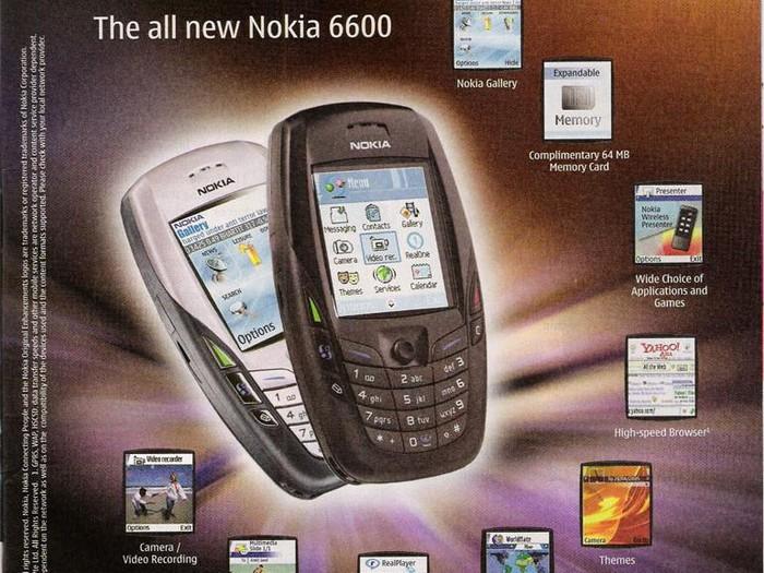Nokia 6600. Foto: istimewa