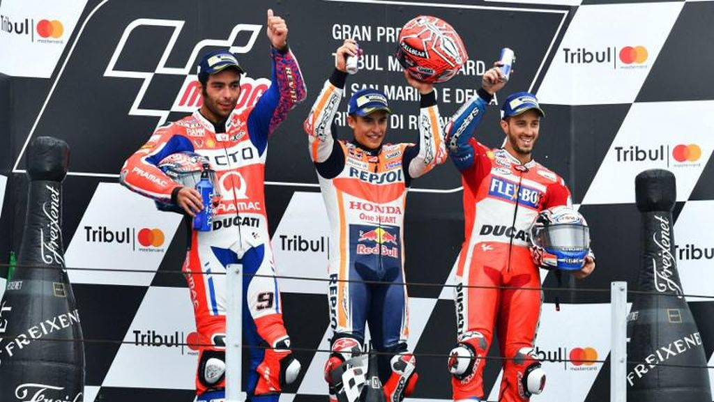 Daftar Pemenang MotoGP San Marino di Misano