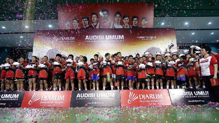 PB Djarum menghentikan audisi umum mulai tahun depan (Foto: Dok. PB Djarum)