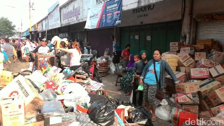 Pedagang Berharap Pemkab Kebumen Segera Dibangun Pasar Wonokriyo