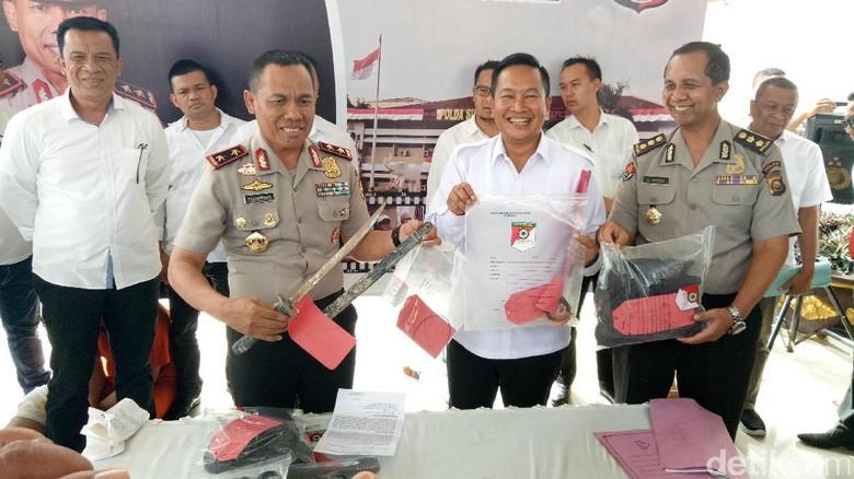 Polisi Bekuk Otak Pelaku Pembunuhan Sopir Taksi Online di Palembang