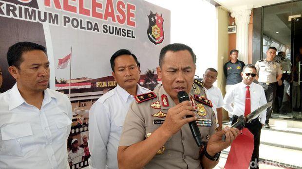 Kapolda Sumsel Irjen Zulkarnain Adinegara mengatakan akan menindak tegas pelaku yang mengancam keselamatan masyarakat