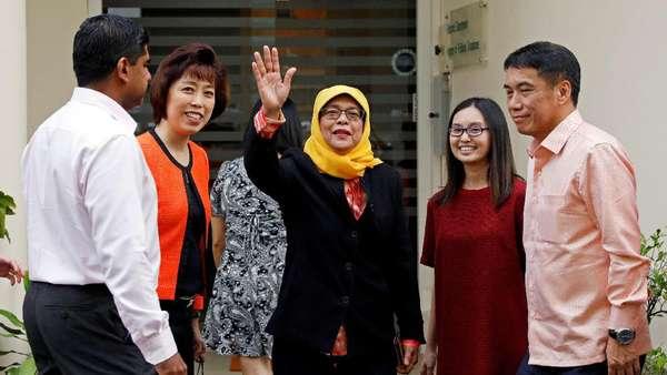 Halimah Jadi Presiden Wanita Pertama Singapura, Ini Tugas-tugasnya