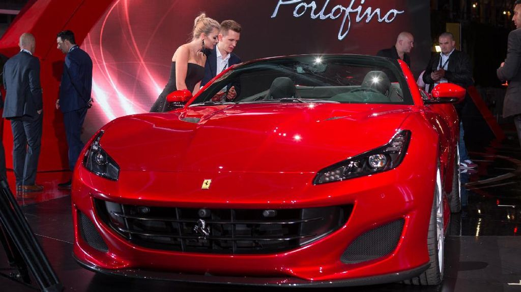 Ferrari Portofino, Mobil Atap Terbuka Ferrari yang Bertenaga