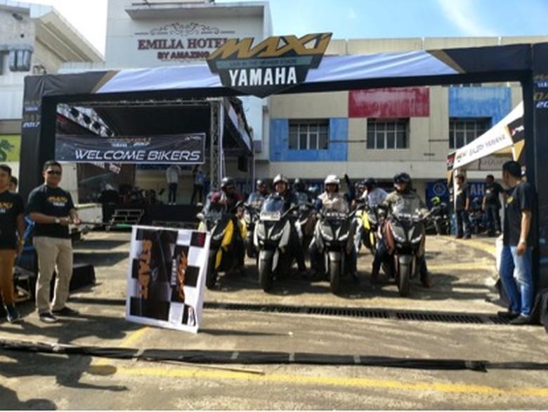 MAXIYAMAHADAY digelar di Palembang (Foto: Yamaha)