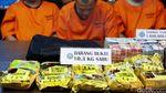 BNN Bekuk 5 Penyelundup 10,39 kg Sabu di Perbatasan