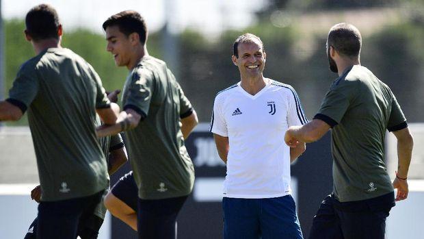 Massimiliano Allegri meraih banyak sukses melatih Juventus.