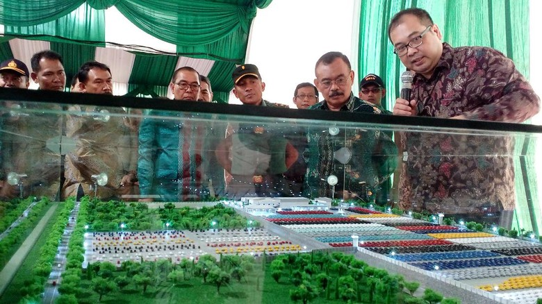 Gelontorkan Rp 500 Miliar, Toyota Bangun Pusat Distribusi Mobil di Mojokerto Foto: Enggran Eko Budianto