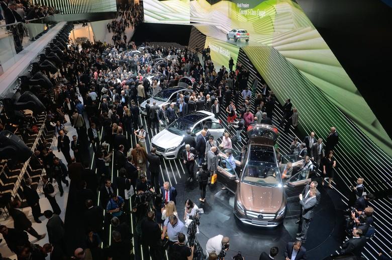Ilustrasi Frankfurt Motor Show. Foto: Getty Images