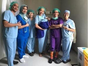 Operasi Dua Kali dalam Sebulan, Bayi Asri Welas Sempat Drop