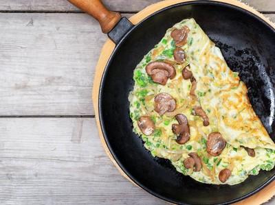 Ini Lima Cara Bikin Omelet yang Rendah Kalori Untuk Sarapan