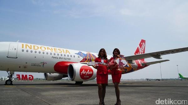 AirAsia mempunyai armada yang besar yang mampu mendatangkan wisman ke Indonesia. Buktinya hampir 30 persen wisman diangkutnya pada target tahun lalu (Masaul/detikTravel)