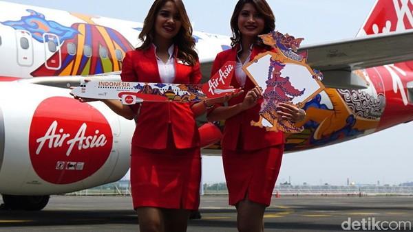 Kemenpar meyakini akan ada pengaruh besar dari livery ini. Hal itu dikarenakan nama besar kedua brand, yakni AirAsia dan Wonderful Indonesia (Masaul/detikTravel)