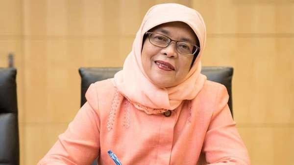 Fakta-fakta Halimah Yacob, Muslimah yang Jadi Presiden Singapura