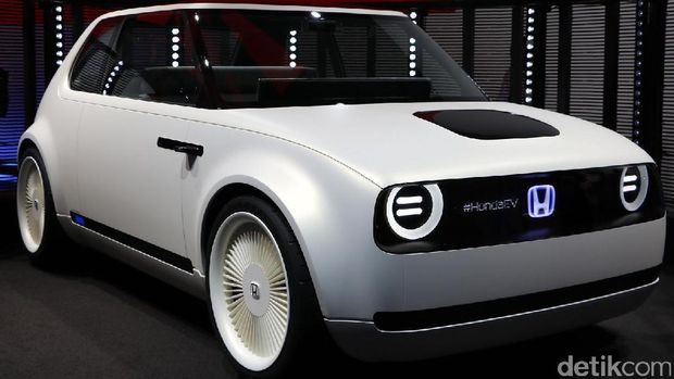 Honda Urban EV saat dipamerkan di Frankfurt Motor Show 2017