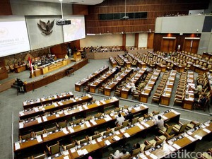 Paripurna Penetapan Anggota Komnas HAM, 355 Anggota DPR Absen