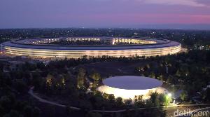 Kantor UFO Apple Bikin Karyawan Tersiksa