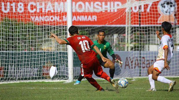 Timnas Indonesia U-19 menang 8-0 atas Brunei.