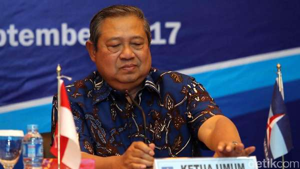 SBY akan Pimpin Rapat Bahas Revisi UU Ormas di DPPDemokrat