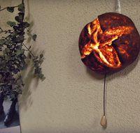 Seniman Jepang Ini Ubah Roti Tawar Asli Menjadi Lampu Hias Cantik