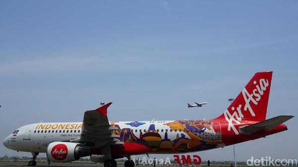 Selain itu, pesawat ini akan diterbangkan ke kedelapan destinasi internasional AirAsia Indonesia dalam rotasi 22 rute penerbangan internasional (Masaul/detikTravel)