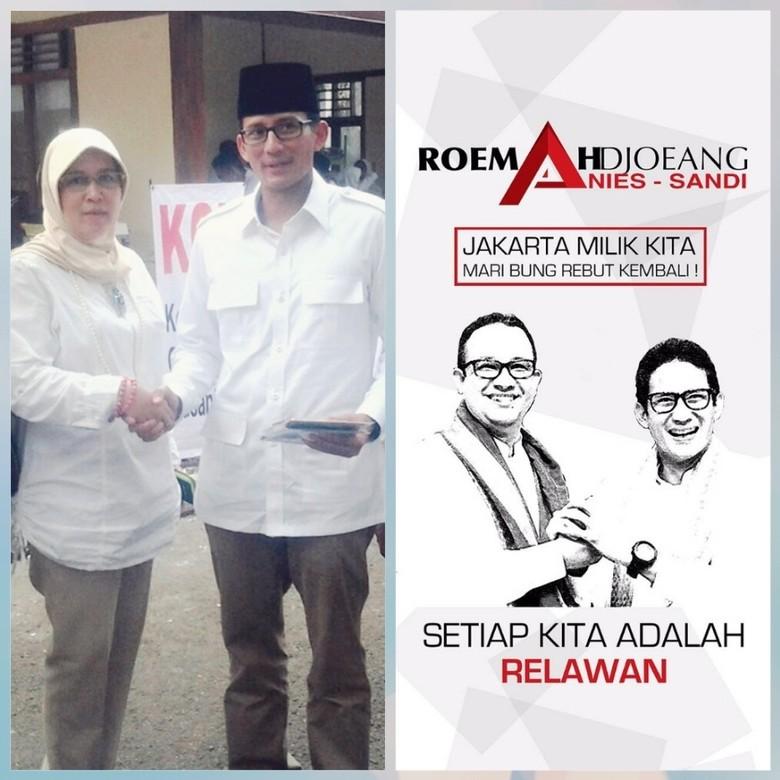 Pernah Foto Bareng Asma Dewi, Ini Kata Sandiaga Uno