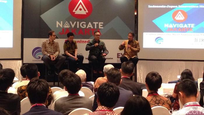 Acara Indonesian Most Investable Startups. Foto: Agus Tri Haryanto/detikINET