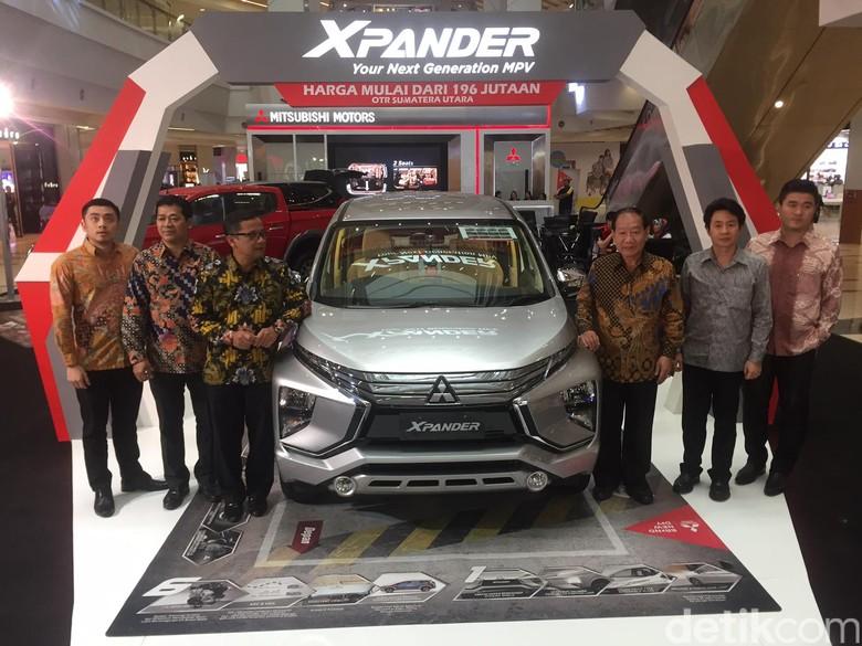 Mitsubishi Xpander diluncurkan di Medan (Foto: Jefris Santama)