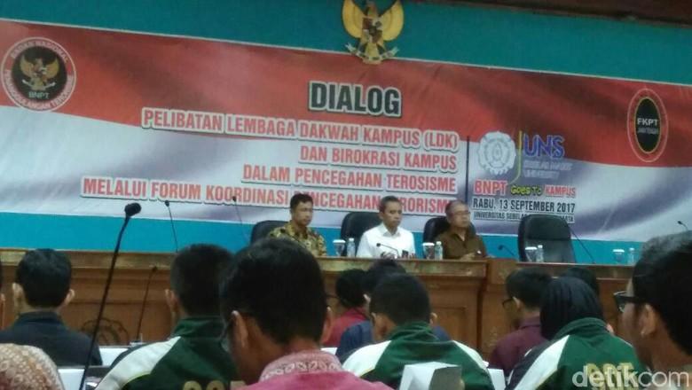 BNPT Ajak Mahasiswa Cegah Terorisme Berkembang di Kampus