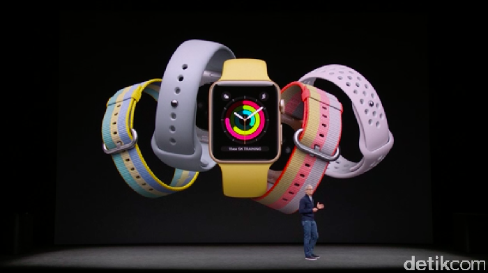 Apple Watch. Foto: Achmad Rouzni Noor II/detikINET