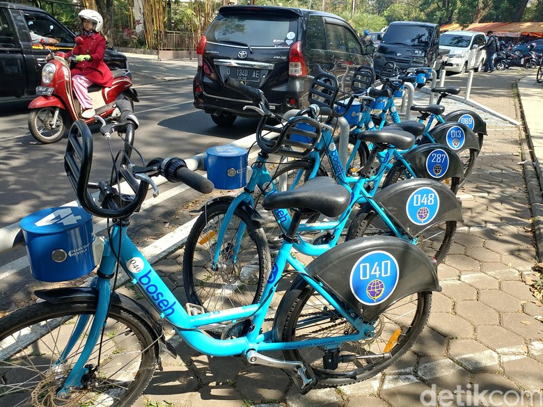 Begini Mudahnya Sewa Sepeda Boseh di Kota Bandung