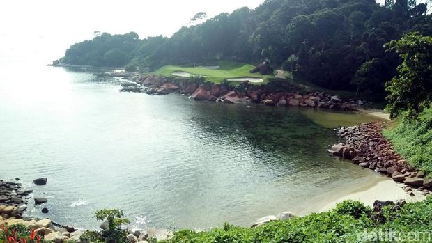 Ocean view hole di Ria Bintan (Bonauli/detikTravel)