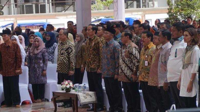 Resmikan Gedung Perpusnas, Jokowi: Ini Digagas Bung Karno