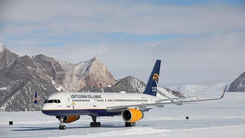Bandara Union Glacier, antartika, kutub selatan