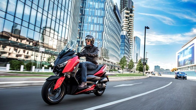Yamaha mengekspor Nmax ke Eropa (Foto: Dok. Yamaha)