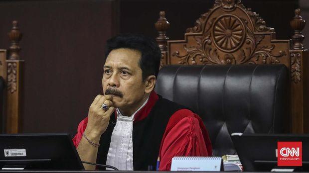 Hakim Mahkamah Konstitusi I Dewa Gede Palguna.