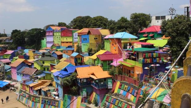 Kampung warna-warni Malang