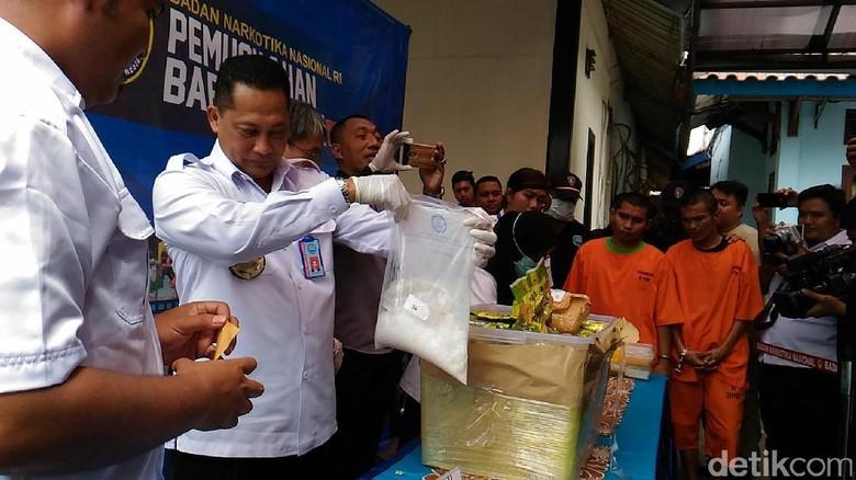 BNN Musnahkan 39,96 Kg Sabu Sindikat Aceh-Malaysia