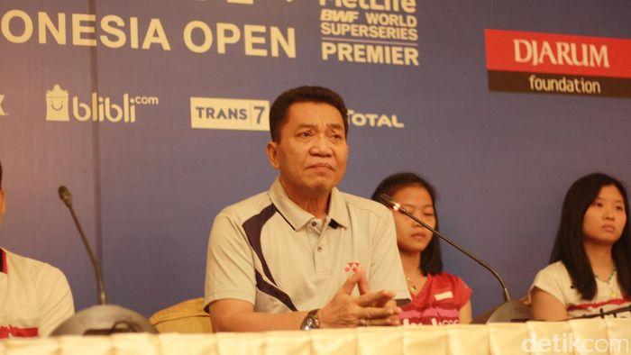 Achmad Budhiharto, sekjend PP PBSI (Femi Diah/detikSport)