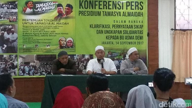 Presidium Tamasya Al-Maidah Sebut Asma Dewi Anggota Biasa