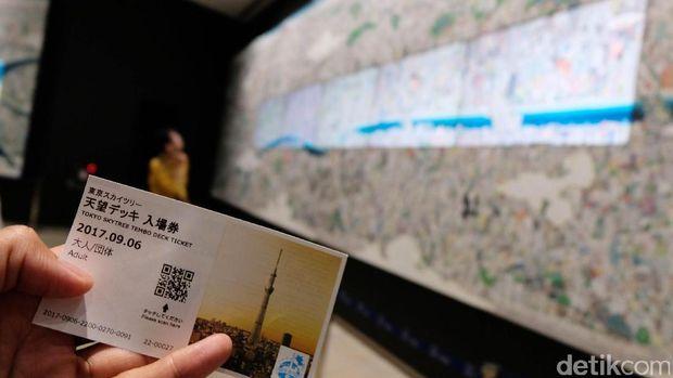 Tiket masuk Tokyo Skytree