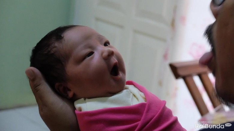 Ilustrasi bayi baru lahir (Foto: Dhani Irawan/detikcom)