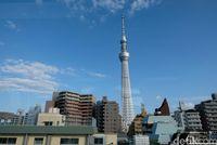 Tokyo Skytree dari kejauhan