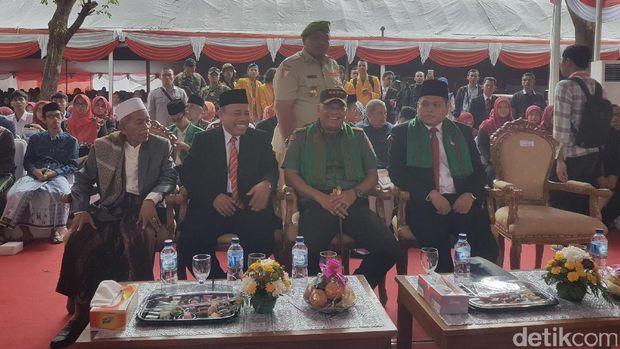 Panglima TNI Jenderal Gatot Nurmantyo saat acara di Universitas Serang Raya (Unsera), Kota Serang, Banten
