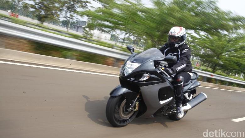 Suzuki Hayabusa (Foto: Hasan Al Habshy)