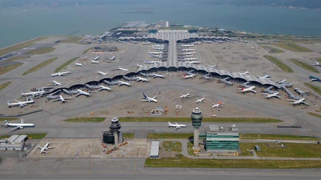 Penerbangan di Hong Kong Tembus Rekor Jelang Tahun Baru Imlek