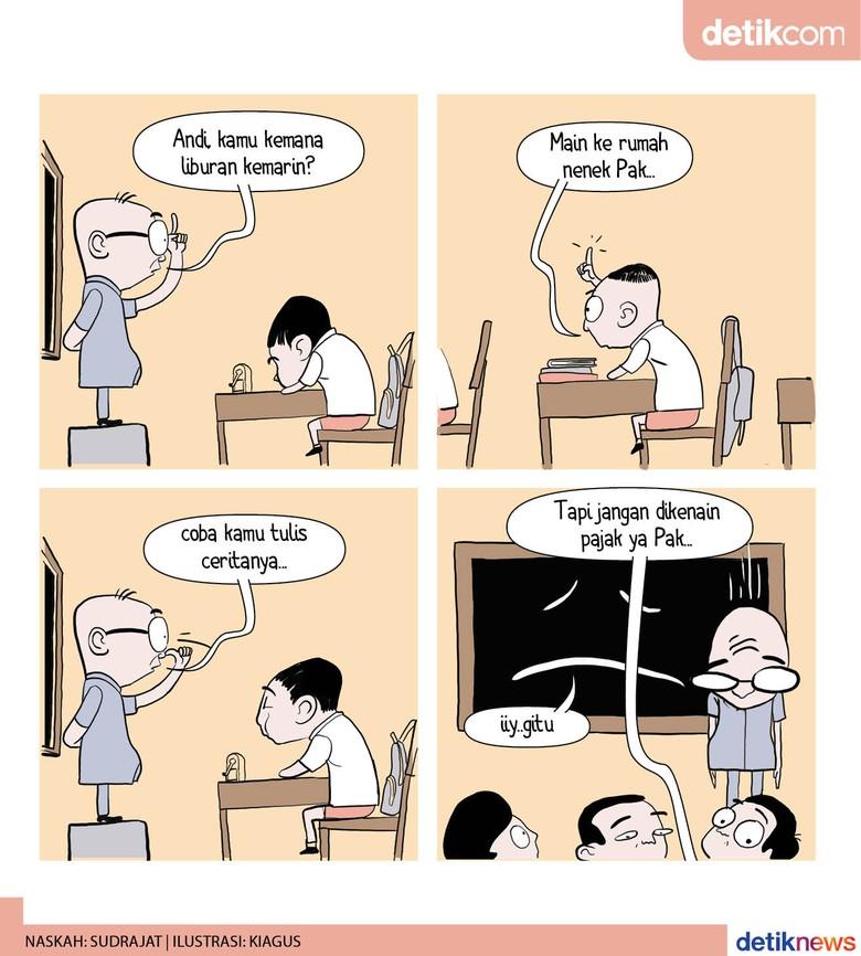 Tingginya Pajak Penulis