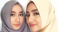 Para netizen pun menyebut wajah cantiknya itu sama percis dengan sang bunda. (Dok. Instagram/osnapitzcha)
