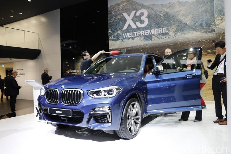 Salah satu SUV BMW, BMW X3 (Foto: Dadan Kuswaraharja)