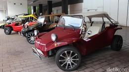 Mobil-mobil Mungil Nan Antik Berkeliaran di Frankfurt Motor Show
